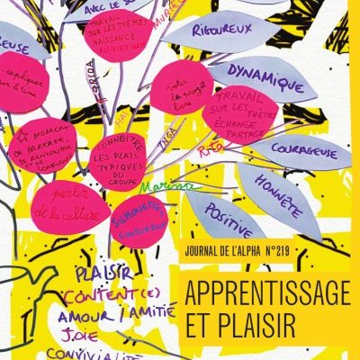 Journal de l'alpha 219 (4e trimestre 2020) : Apprentissage et plaisir