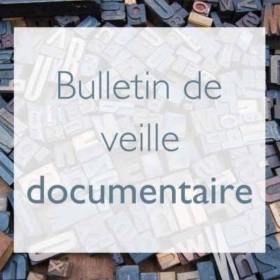 Bulletin de veille documentaire no 5, septembre 2019