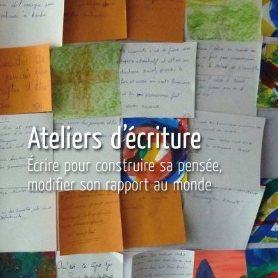 Journal de l'alpha 183 : Ateliers d'écriture (mars-avril 2012)